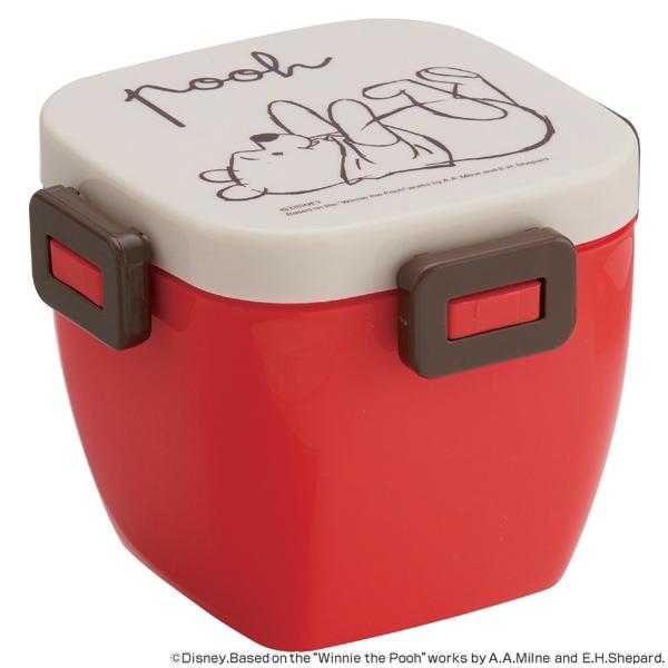 特価 ■在庫限り・入荷なし■ 【アウトレット セール】 お弁当箱 4点ロック カフェ丼ランチボックス 2段 どんぶり型 くまのプーさん スケ